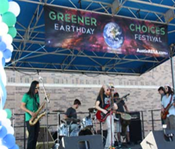 Greener Earthday | Choices Festival | Outdoor Banner | Go Green Banners