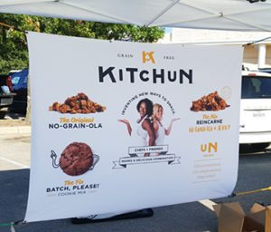 Kitchen | Outdoor Farmers Market | Fabric Banner | Banners | Go Green Banners